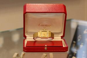 Damenuhr - Gold - Cartier