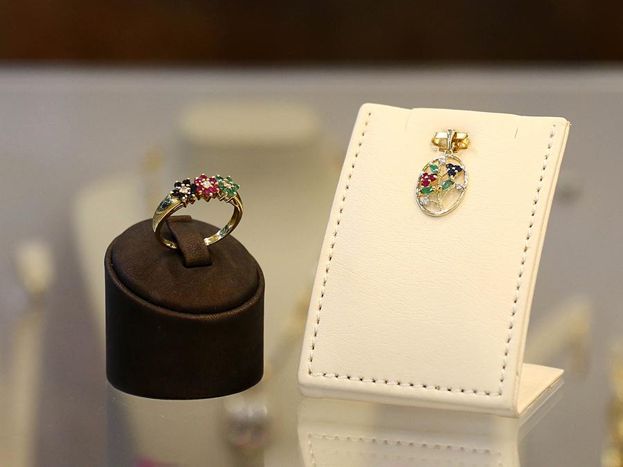 Kombination - Ring und Anhänger aus Gold