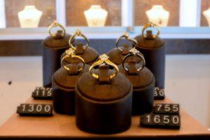 Goldringe mit Brillianten