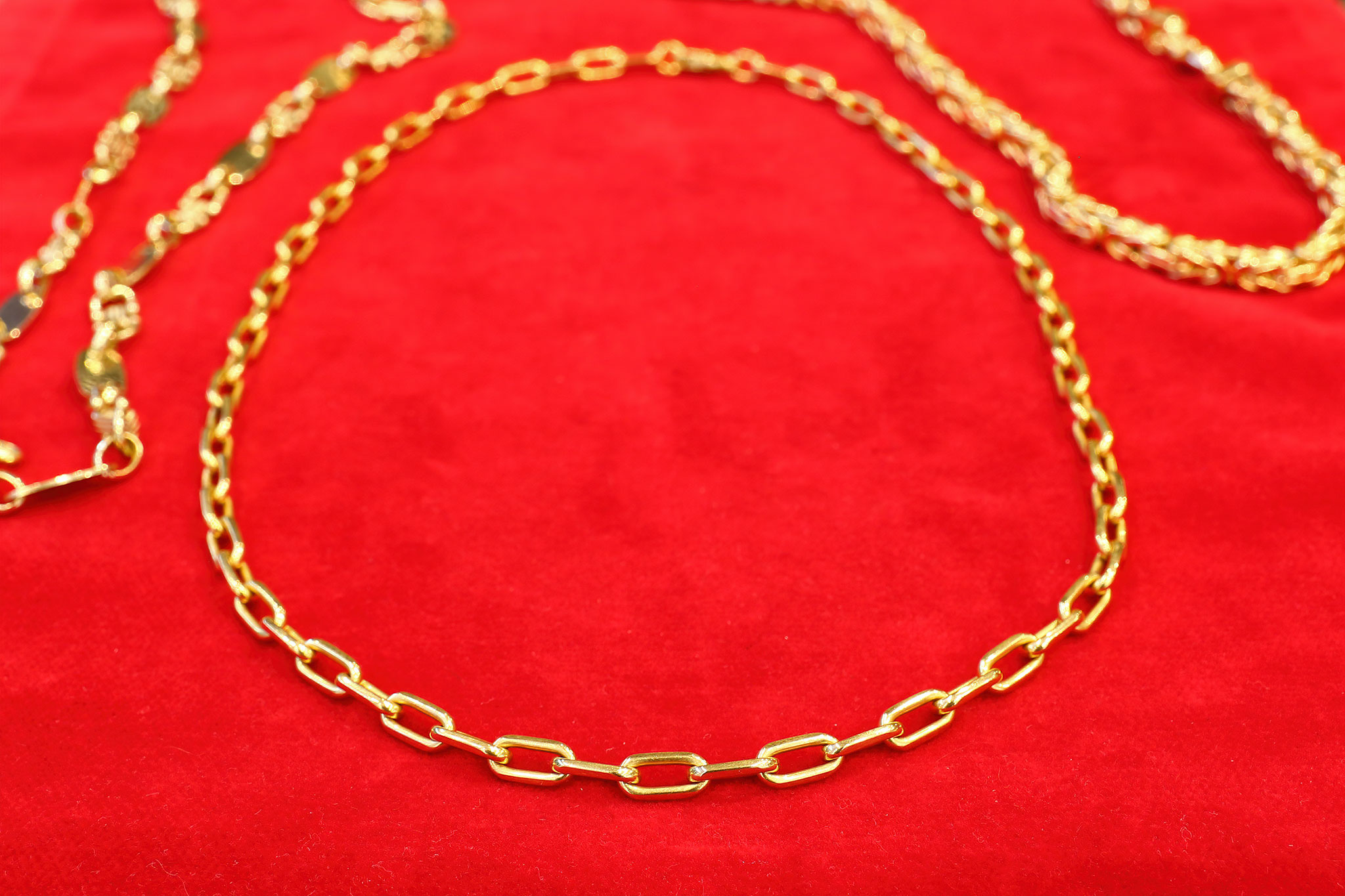 Edle Goldkette - Goldankauf Reutlingen