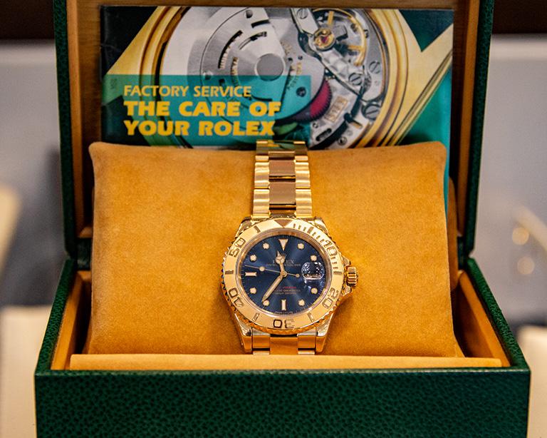 Golduhr von Rolex bei Juwelier Johan Reutlingen