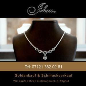 Weißgoldkette 18K - Goldankauf Juwelier Johan