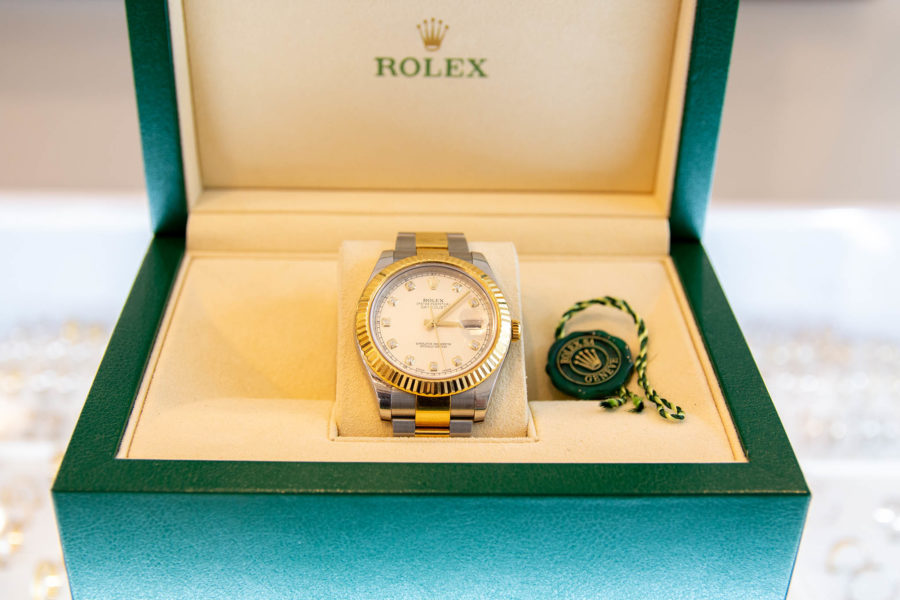 Rolex | Datejust II - Diamond Dial
